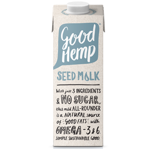 Good Hemp Creamy Seed Milk 1000ml (Konopný nápoj)