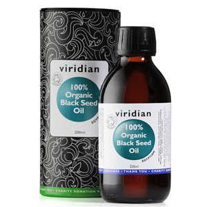 Black Seed Oil 200ml Organic