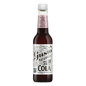 Gusto Naturally Slim Cola 275ml