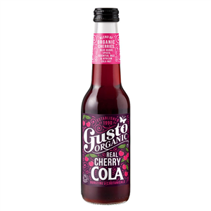 Gusto Organic Cherry Cola 275ml