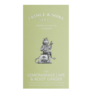 Lemongrass Lime & Root Ginger 15 sáčků (37,5g)